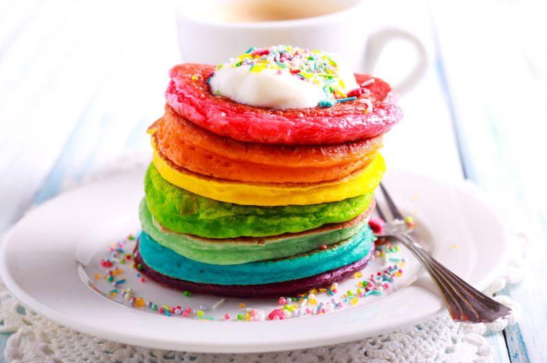 Rainbow foods we are completely obsessed with