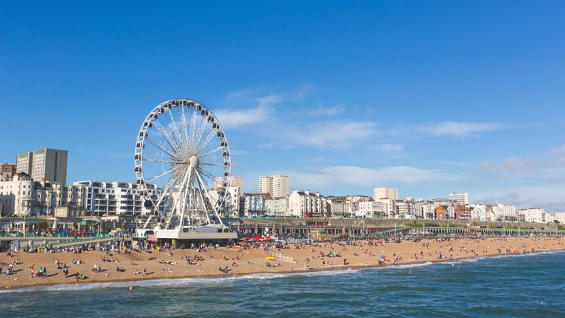 The rise and fall of English seaside resorts