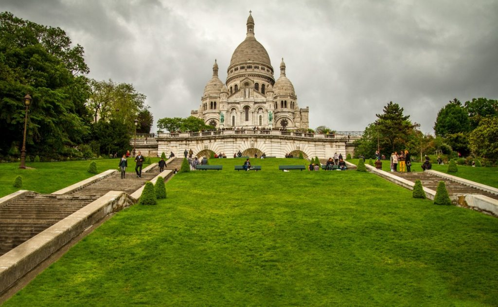 Sacré-Cœur Basilica, or Basilica of the Sacred Heart, is the second most popular tourist attraction in France.