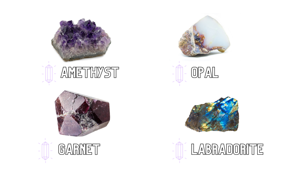 Using crystals to overcome obstacles